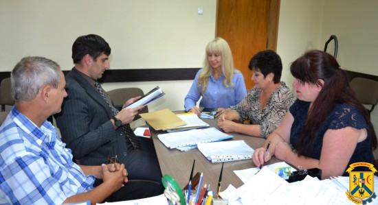 Засідання конкурсної комісії з проведення міського конкурсу «Чисте місто»