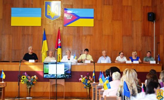 Урочисті збори міської ради з нагоди відзначення 341-ї річниці утворення міста