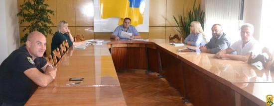 Засідання адміністративної комісії при виконавчому комітеті міської ради