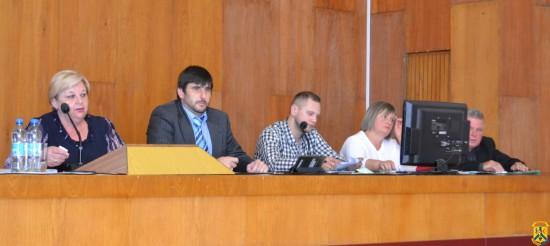 Засідання чергової 50-ої сесії міської ради сьомого скликання