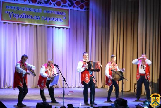 Концерт для любителів гармоні