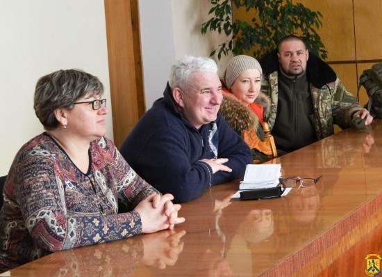 Засідання комісії з визнання бійців-добровольців