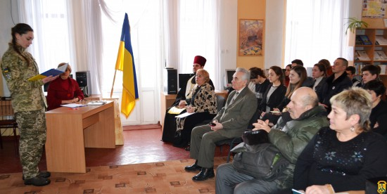 Меморіальний вечір «Крути: за Україну, за її волю!»