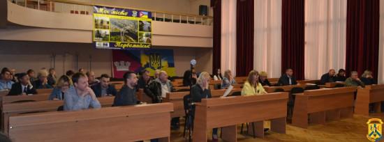 Пленарне засідання позачергової 73 сесії Первомайської міської ради