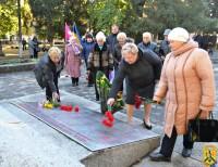Мітинг присвячений 74-й річниці визволення України від нацистських загарбників