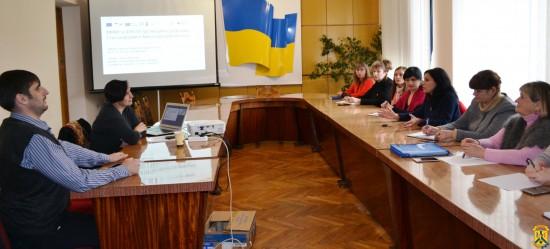 Зустріч з тренером з підтримки медичної реформи в Україні