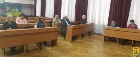 Засідання оперативного штабу запобігання загибелі бездомних громадян від переохолодження в осінньо-зимовий період 2018-2019 років