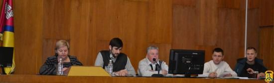 Пленарне засідання чергової 76 сесії Первомайської міської ради