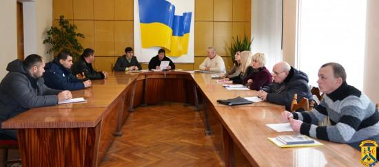 Засідання міського штабу із забезпечення безперебійної роботи об'єктів життєдіяльності населення міста