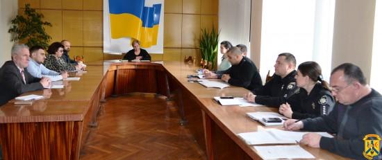 Засідання комісії з питань боротьби зі злочинністю
