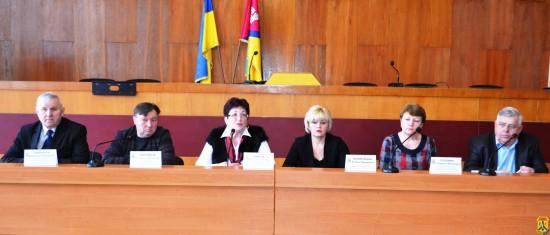 Прес-конференція щодо роз'яснення ситуації із захворювання населення на кір що склалася в місті