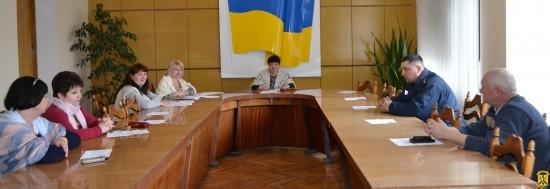 Планове спільне засідання координаційної ради з питань сім'ї, жінок, дітей та молоді