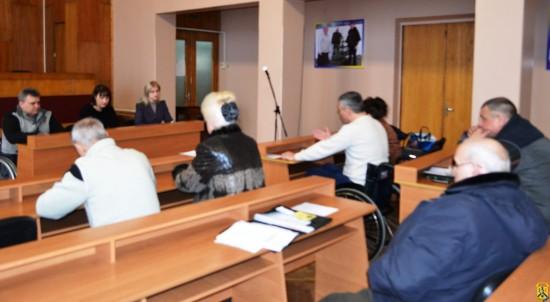 Засідання комітету забезпечення доступності маломобільних груп населення до об'єктів соціальної та інженерно-транспортної інфраструктури
