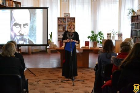 Творча зустріч «Тарас Шевченко в літературі і живописі»