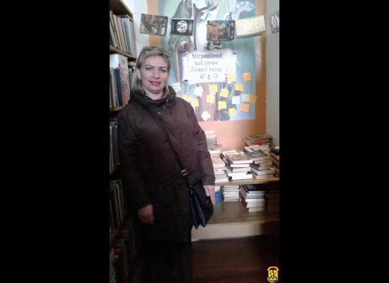 Міграційний майданчик «Вільної книги» в Первомайську