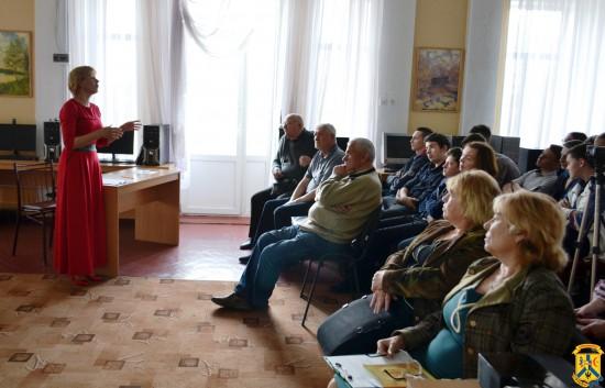 Зустріч молоді міста із ліквідаторами наслідків аварії на Чорнобильській атомній електростанції