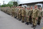 Первомайськ зустрічає військовослужбовців військової частини А2227