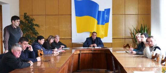 Cпільне засідання постійної комісії міської ради з питань планування