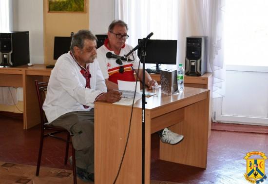 Зустріч з поетом Павлом Миколайовичем Гірником