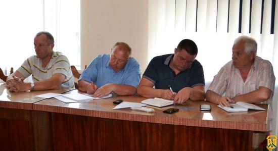 Hарада з керівниками підприємств житлово-комунального господарства