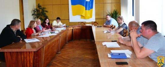 Нарада з міськими комунальниками щодо окремих заходів в зв'язку із змінами в діючому законодавстві