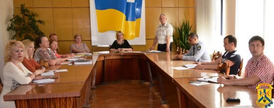 Нарада про готовність евакуації міста Первомайська