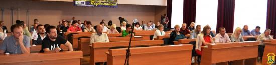 Пленарне засідання чергової 66 сесії Первомайської міської ради