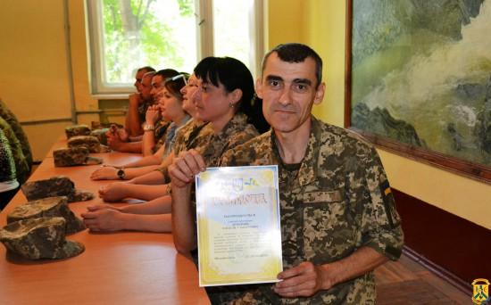 Святкові заходи з нагоди відзначення 34-ї річниці військової частини А2709