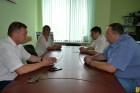 Робоча зустріч з представниками керівного складу ПАТ «Ощадбанк»