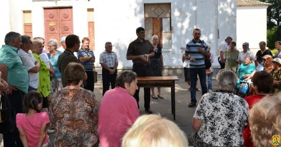 Збори мешканців мікрорайону Гілея-Дроздівка