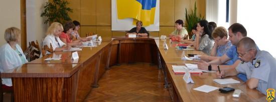 Засідання комісії з питань захисту прав дитини
