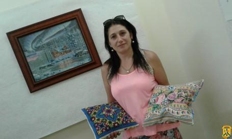 Відкриття виставки художньо-ужиткового мистецтва  «Мальовнича Україна»
