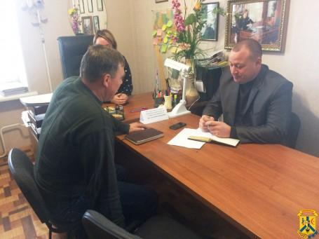 Виїзний прийом громадян в.о. начальника Головного управління Держгеокадастру