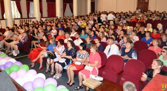 Конференція педагогічних працівників міста Первомайська