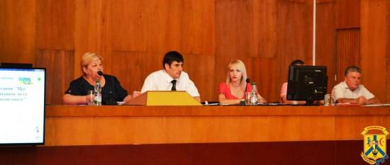 Пленарне засідання чергової 70 сесії Первомайської міської ради