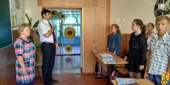 Візит до навчально-виховного комплексу «ЗОШ І-ІІ ступенів №15 – колегіум»