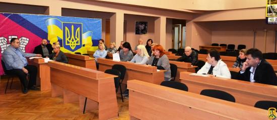 Засідання комісії з питань перевізників