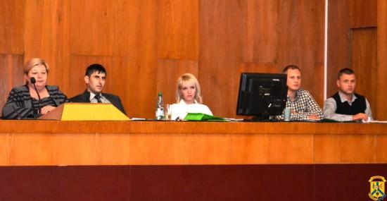 Пленарне засідання чергової 72 сесії Первомайської міської ради