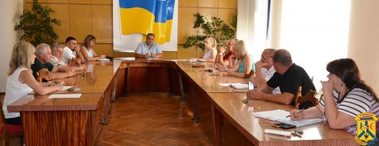 Робоче засідання конкурсного комітету