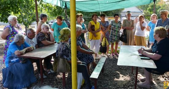 Черговий виїзний прийом громадян в мікрорайоні квартального комітету №49