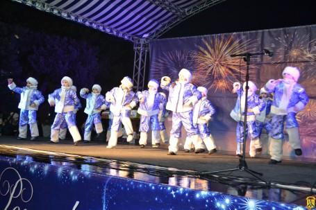 Первомайськ святкує Новий 2019 рік
