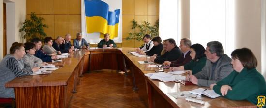 Засідання госпітальної ради Первомайського госпітального округу