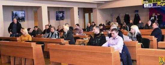 Продовження роботи чергової 81 сесії міської ради