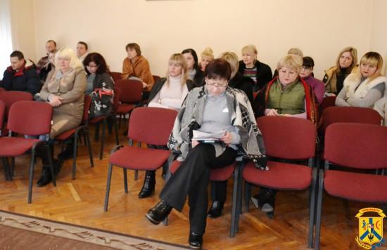 Апаратне навчання працівників виконавчих органів міської ради