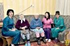 В місті Первомайську відбулася низка заходів з нагоди відзначення Дня людей похилого віку