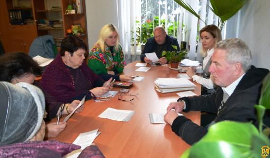 Засідання громадської комісії з житлових питань