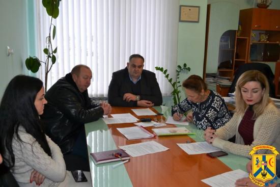 Засідання конкурсної комісії з надання в оренду майна комунальної власності територіальної громади міста Первомайська