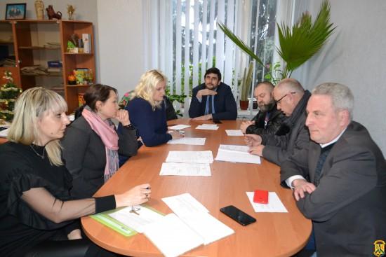 Засідання комісії по розгляду земельних спорів в межах міста Первомайська