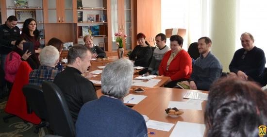 Засідання «круглого столу» робочої групи представників національних меншин та представників органів виконавчої влади міста