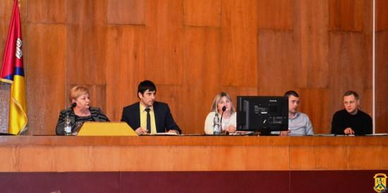 Пленарне засідання 82 чергової сесії Первомайської міської ради